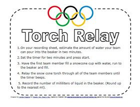 Olympic games for kids, free, printable, back to school math, math olympics