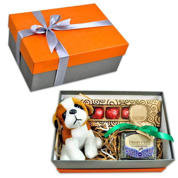 """Подарочный набор """"Оранжевое настроение"""" – Профессиональные сувениры"""