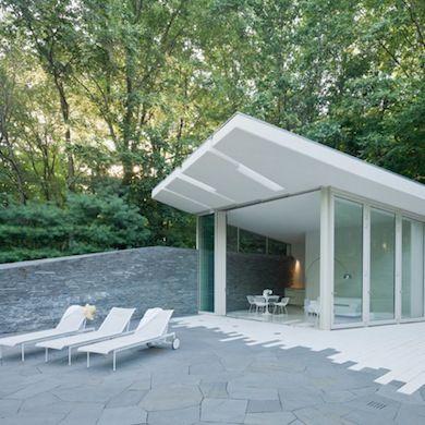 Concrete Pool House
