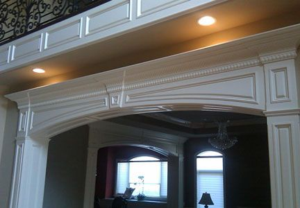 Moulding examples, projects & terms - good info!