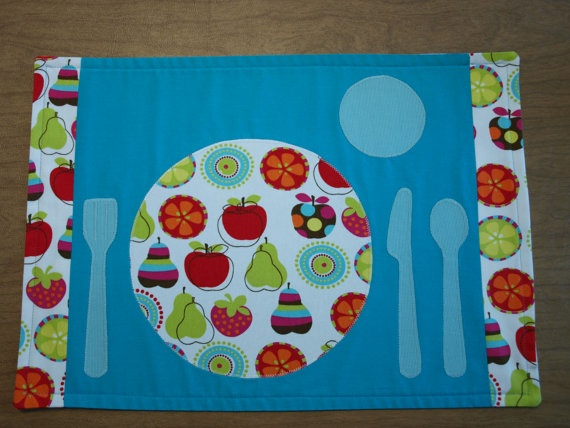So cute placemat