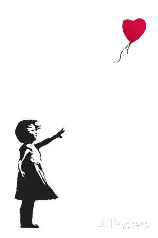 Balloon Girl Banksy Prints at AllPosters.com