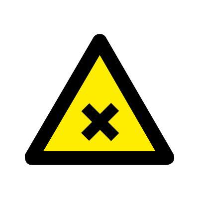 Skadelige eller irritende stoffer - Køb Advarselsskilte her