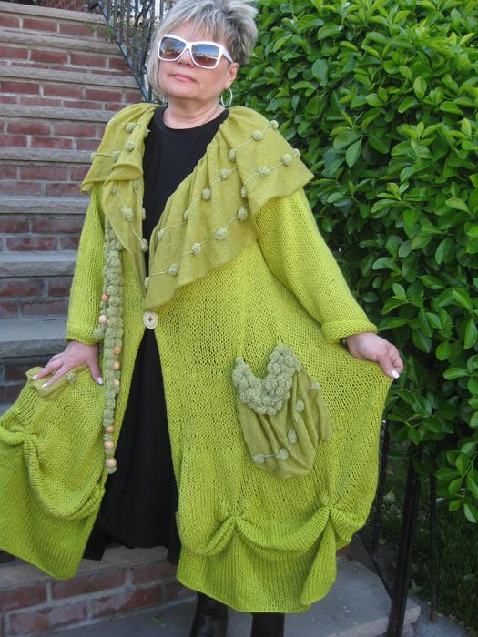 Как хорошо уметь вязать: Larisa Scarlatto, стиль БОХО, вязание........