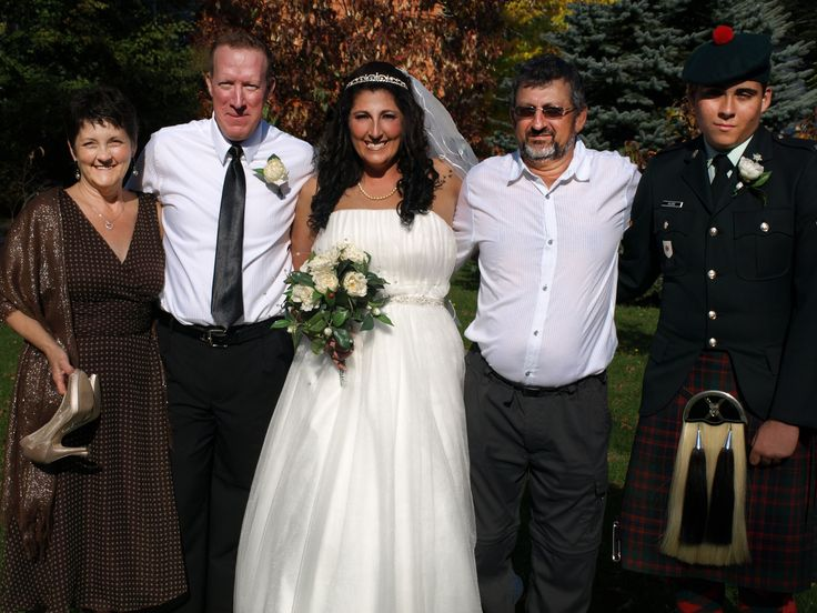 my mumma , dad, husband, my self and son