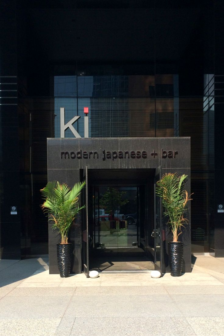 Ki Modern Japanese + Bar- True to the essence of traditional and the latest evolution of fine Japanese cuisine. Authentic and innovative. Designed to inspire indulgence.