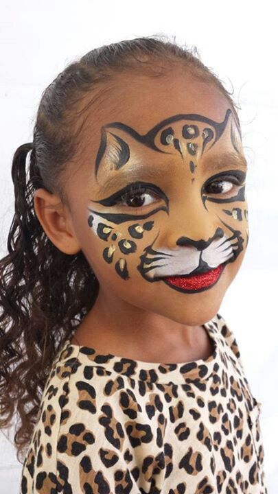 271 best Face Paint Lions, Tigers and Leopards images on ...