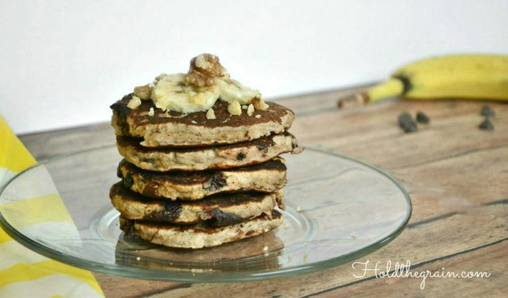 Best Ever Banana Bread Pancakes -- tried them, they turn out great