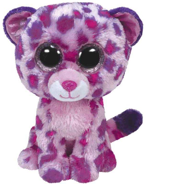 TY Beanie Boo Glamour het Roze Luipaard 23cm