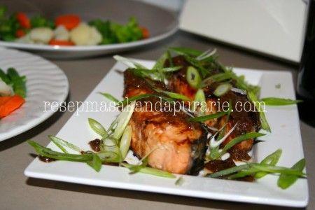 Resep Salmon Saus Teriyaki