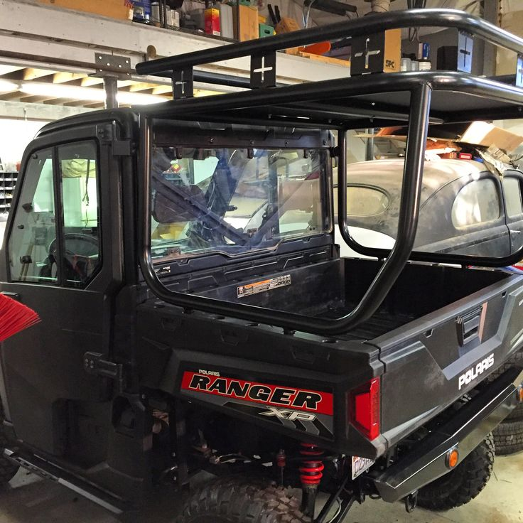 ROLL CAGE, ROOF AND SAFARI RACK INSTALLED ON A POLARIS RANGER 900XP. UTV, SIDEXSIDE    CALL DARREN FOR PRICING 801-865-7647