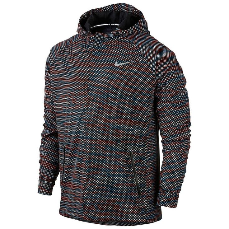 MENS NIKE SHEILD FLASH REFLECTIVE JACKET WATERPROOF 3M 684013 011. Machine wash warm at 40c. Do not bleach. Tumble dry normal. Do not dry clean. Storm fit technology protects from wind and water. Reflective elements for visibility in low light.   eBay!