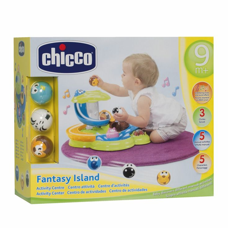 Chicco 69005 Fantasy Island: Amazon.it: Prima infanzia