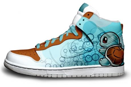 balenciaga arena bag squirtle shoes  love that design