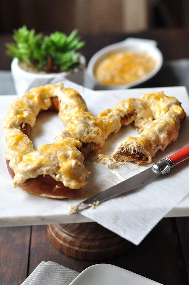 Maryland Crab Dip Pretzel | The Mighty Mrs.