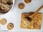 Crackers Gluten Free con Farina di Ceci e Semi di Sesamo