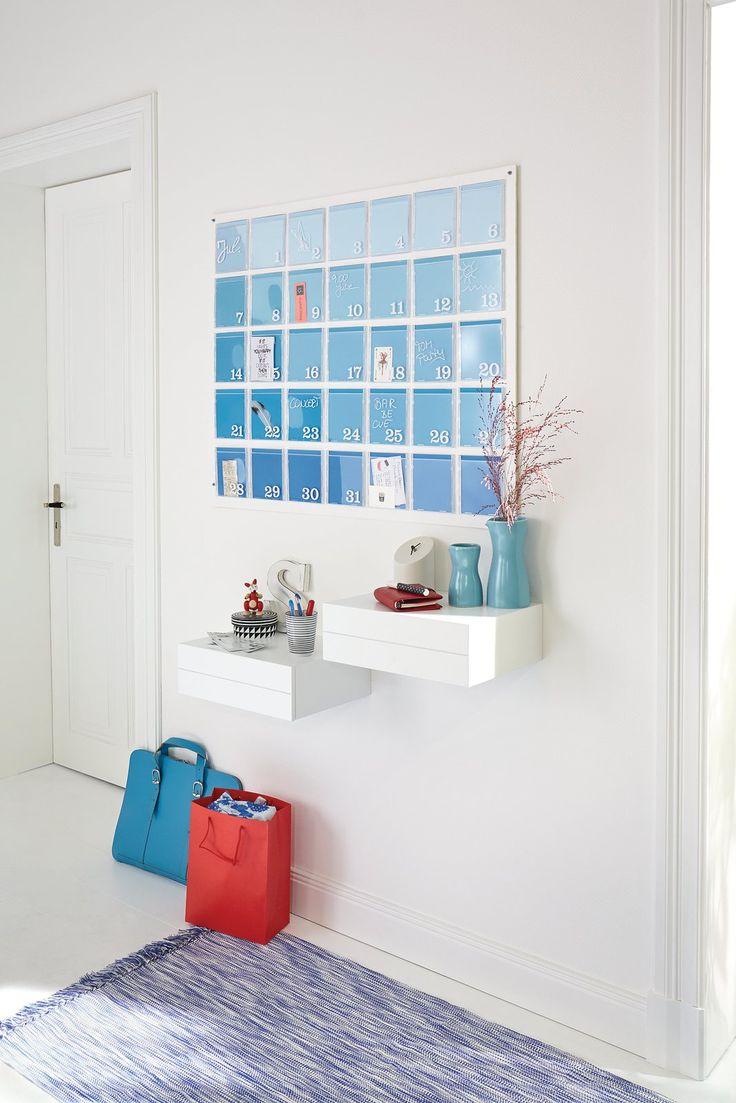 DIY Calendar Wall | tesa // How to design your self-made ...