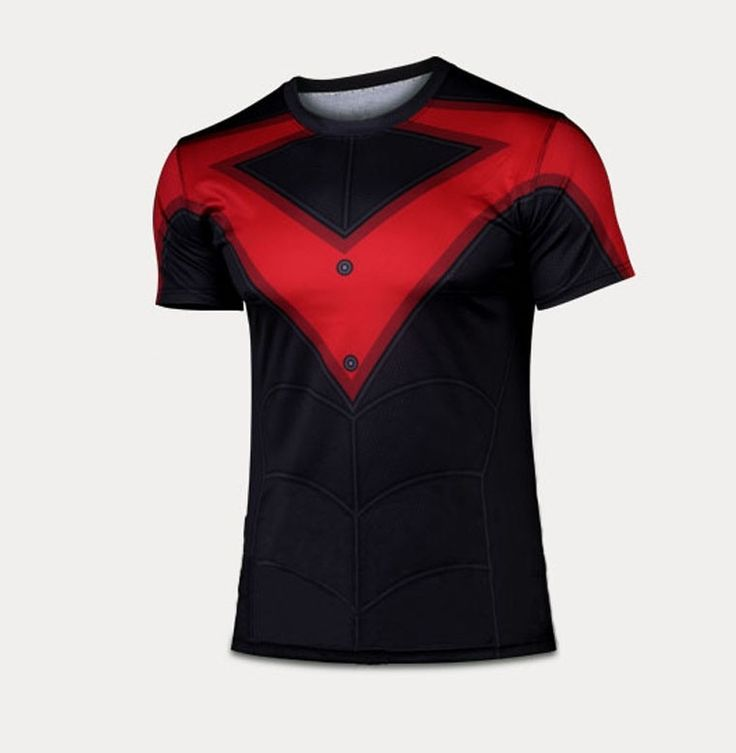 Nightwing Quick-dry Sports T-shirt, Breathable Short Sleeve T-shirt For Outdoor Sports.