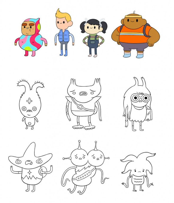 Design An Adventure Time Character : Best images about flapjack adventure time character