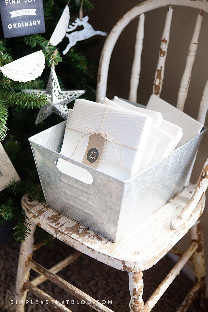 Countdown To Christmas Tree