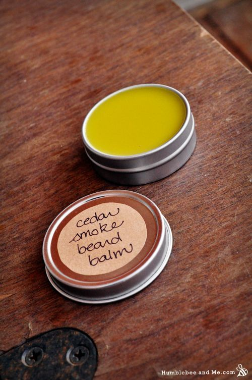 DIY Cedar Smoked Beard Balm Recipe for Dad on Father's Day