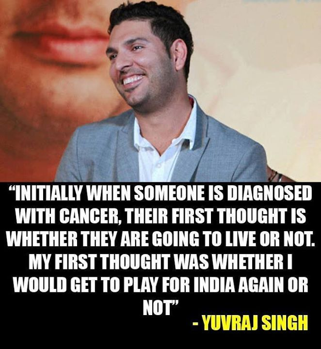 Don't forget Yuvraj Singh is a CHAMPION! - http://ift.tt/1ZZ3e4d