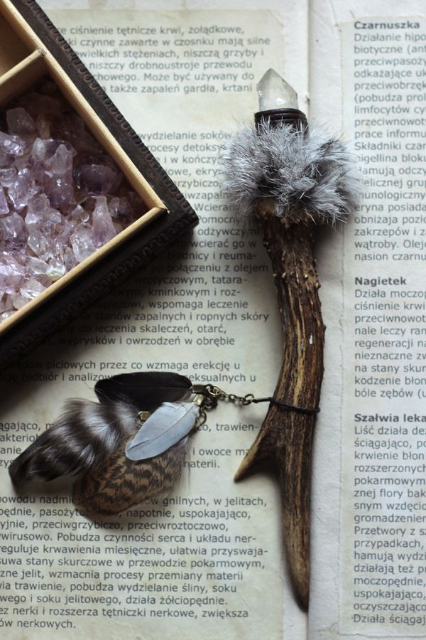 talisman/horn wand #witchcraft #witch