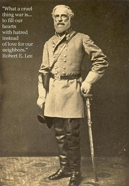Gen Robert Edward Lee (19.1.1807|12.10.1870) USMA 1829 2/45. Married Mary Ann Randolph Custis, great grand–daughter of Martha Washington, 30.6.1831. Mexican-American War, fought with Maj-Gen Winfield Scott. Superintendent USMA, 1855/1857. 2nd U.S. Cavalry, Lt. Colonel, 1857/1861. Led U.S. Marine detachment against John Brown at Harper's Ferry, 1859. Resigned Col U.S. Army 20.4.1861.