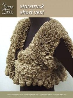 short vest - RIBBON yarn - Free Patterns | Knitting Fever Yarns & Euro Yarns  |