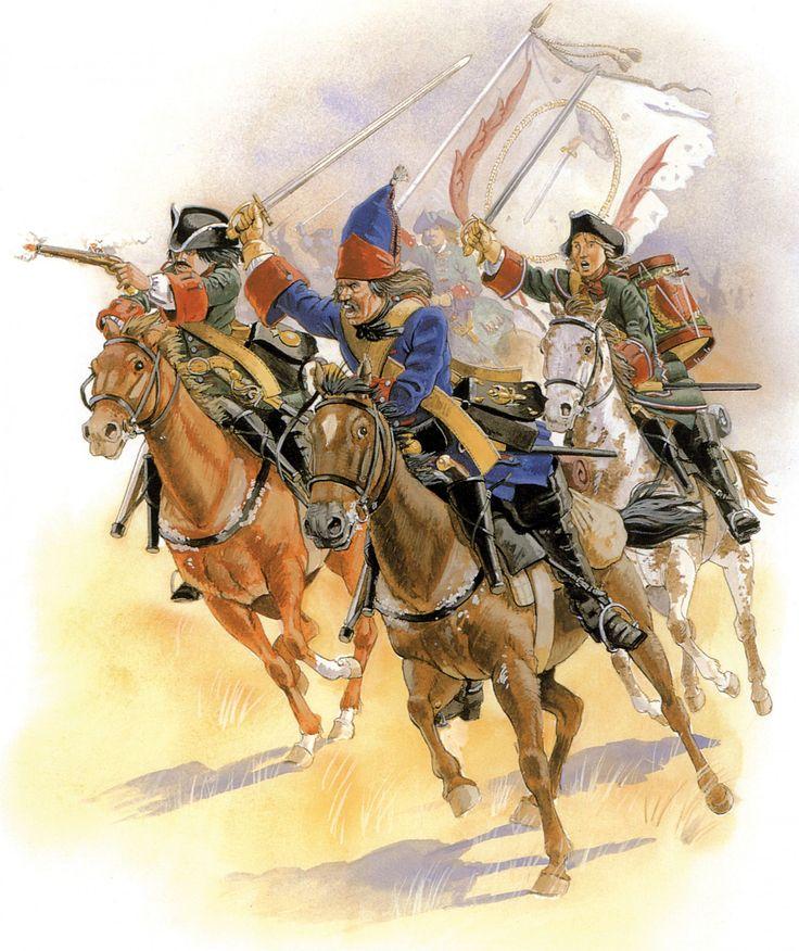 Poltava 1709 Russian cavalry