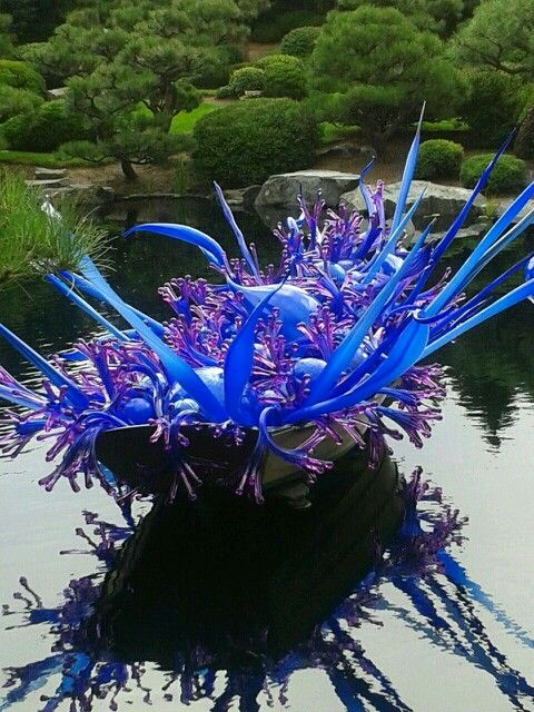 Chihuly at Denver Botanic Gardens 2014.