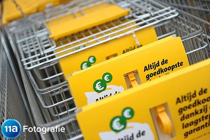 Reclamefotografie: Winkelwagentjes van een supermarktketen ~ 11A Fotografie
