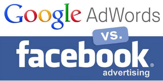 adwords vs facebook