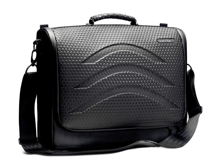 LAT56 Messenger Bag with Inner Memory Foam Padded Laptop compartment