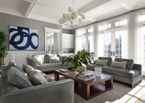 Grey Living Room And Green Modern Sofa Divine Story Home Inspiration For Living Room Concept Homes Designs 43 Living Room interior ideas | zoonek.com