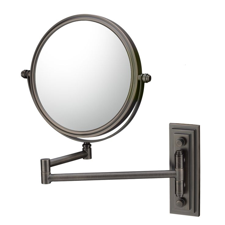 Mirror Image - Italian Bronze - Classic Double Arm Wall ...