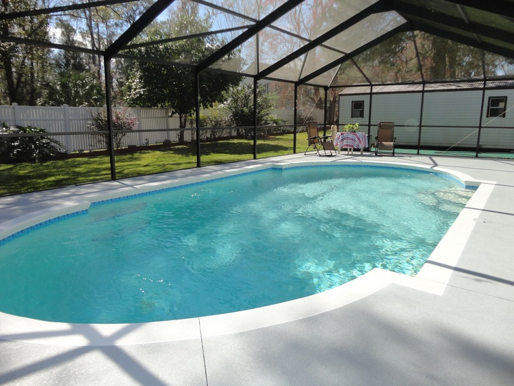 12 best salt water pools images on pinterest backyard - Invisible edge pool ...