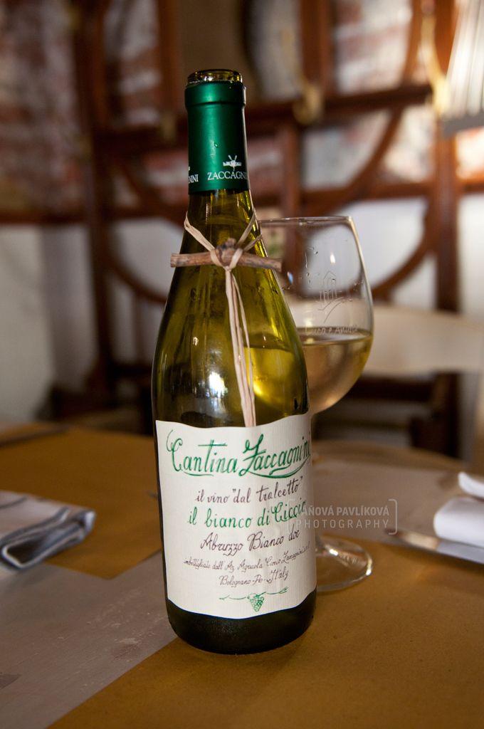 Wine in the family restaurant - Il Naviglio Grande (Milano, Italy) #Milano #milan #Italy #naviglio #canale #wine