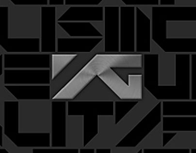 YG ENTERTAINMENT Brand Identity Renewal