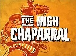 The High Chaparral is an American Western-themed television series starring Leif Erickson and Cameron Mitchell which aired on NBC from 1967 to 1971. The series, made by Xanadu Productions in association with NBC Productions, was created by David Dortort, who had previously created the hit Bonanza for the network. The theme song was also written and conducted by Bonanza scorer David Rose, who also scored the two-hour pilot.