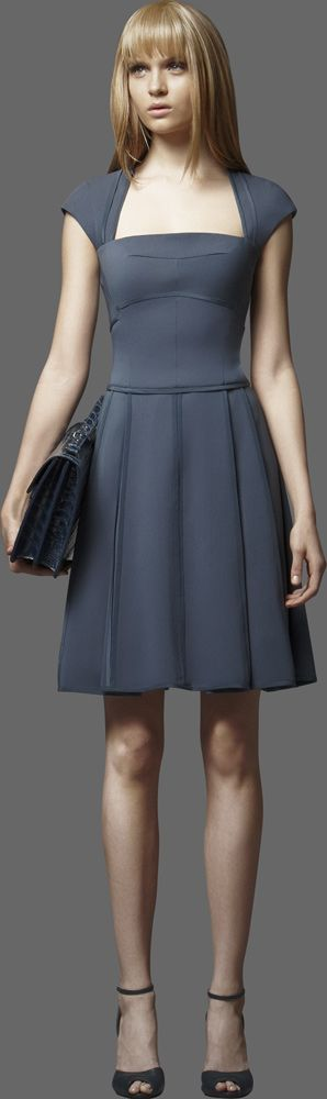 ELIE SAAB - Ready-to-Wear - PreFall 2012, I would actually like this better if it were 3/4 below the knee but still cute