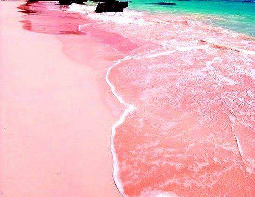 pink sand beach - Αναζήτηση Google