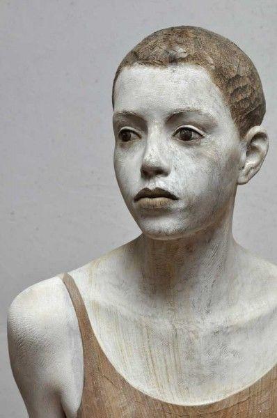 Les sculptures en bois de Bruno Walpoth - Journal du Design