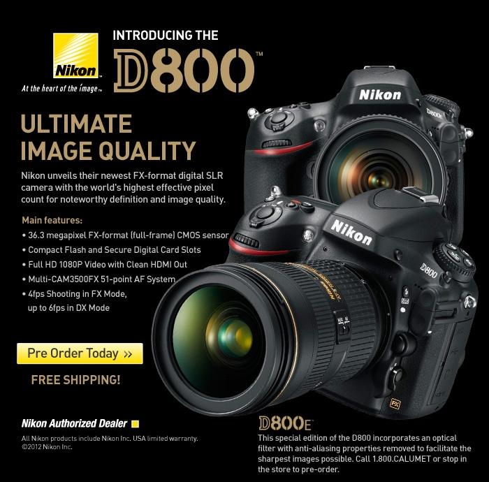 Nikon D800 - 36 megapixels... NOW WE'RE TALKIN....