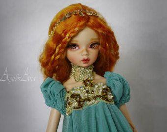 Oosterse prinses jurk instellen kleding voor bjd slanke msd mnf minifee a-line dollfie poppen grootte fantasie keizerin stijl