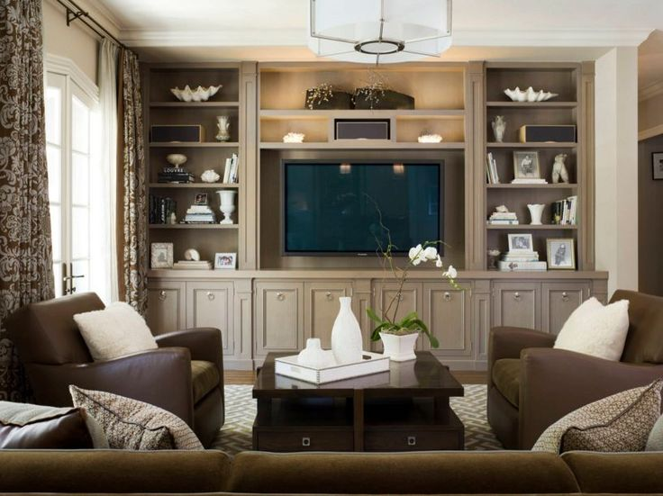 Built In Wall Units For Living Rooms best 25+ shelves around tv ideas only on pinterest | media wall