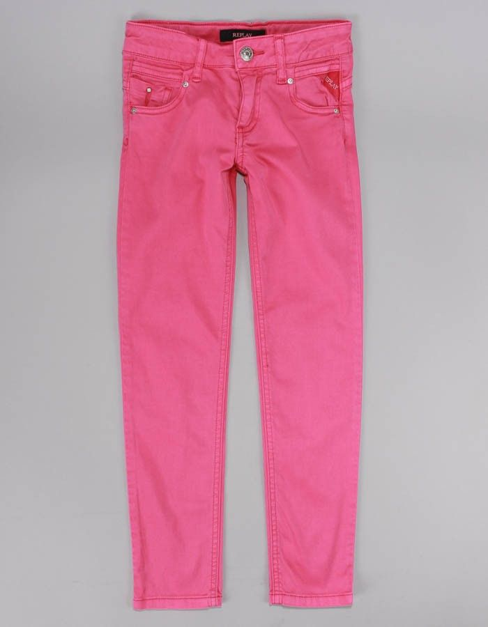 Replay Pink Super Skinny Jeans | Accent Clothing