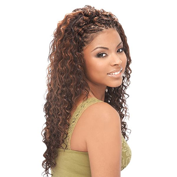 25  best ideas about Human Hair Crochet Braids on