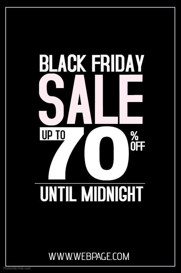 44 best Black Friday Flyer Templates images on Pinterest Flyer - black flyer template