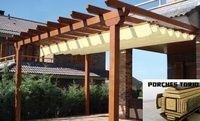 Porches de  madera,Tejados de madera, Pérgolas de madera ,Garajes en madera en León